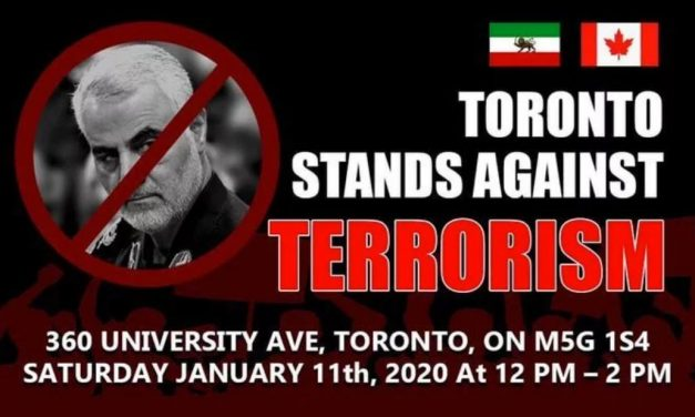 Anti-terrorism protest to be held in Toronto this Saturday