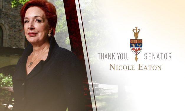 Senator Nicole Eaton Retires