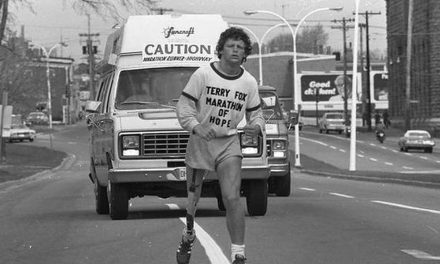Let's put Terry Fox on the $5 bill!