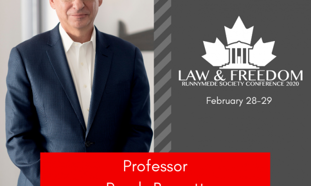 2020 Law and Freedom conference in Toronto